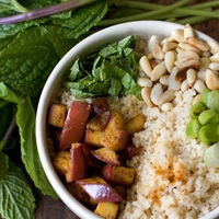 Curried Apple Couscous | dinner inspiration | Pinterest