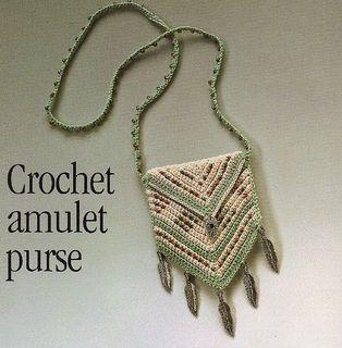 Crochet Amulet Purse