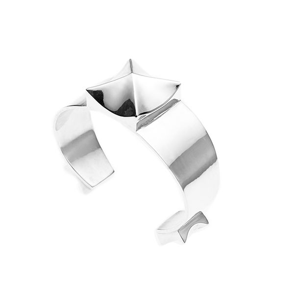 PUSHMATAAHA // Eclipse Cuff in 925 Sterling Silver