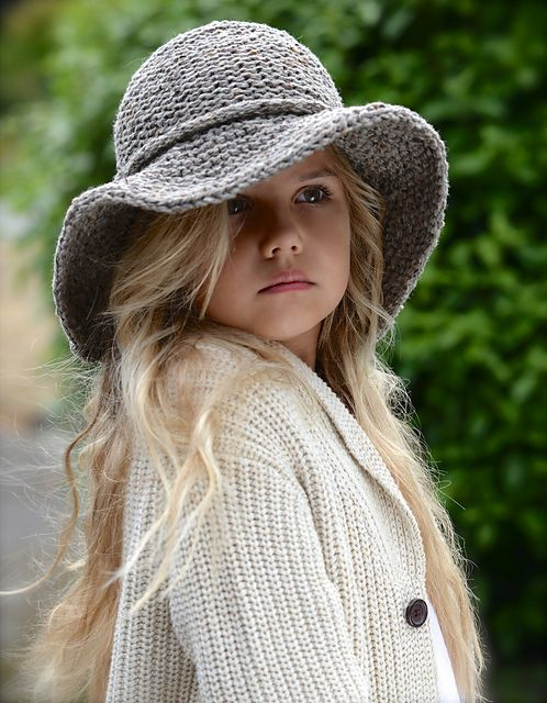 Ravelry: Freelyn Brim Hat pattern by Heidi May