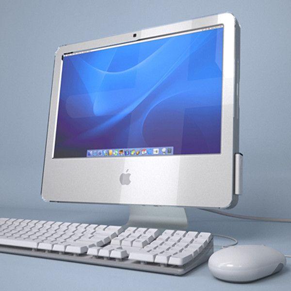 Apple Imac G5 Core 3D Model - 3D Model