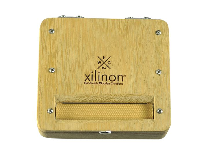 Tobacco rolling case | handmade | wooden | wood type: iroko | by Xilinon on Etsy