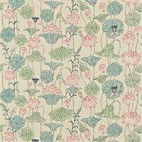 Zoffany Fabric - Lotus Flower