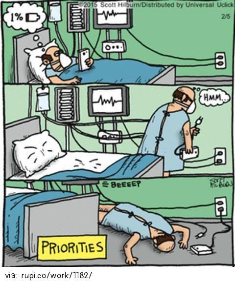 Priorities - Rupi - Social Comic Strip @rupidotco