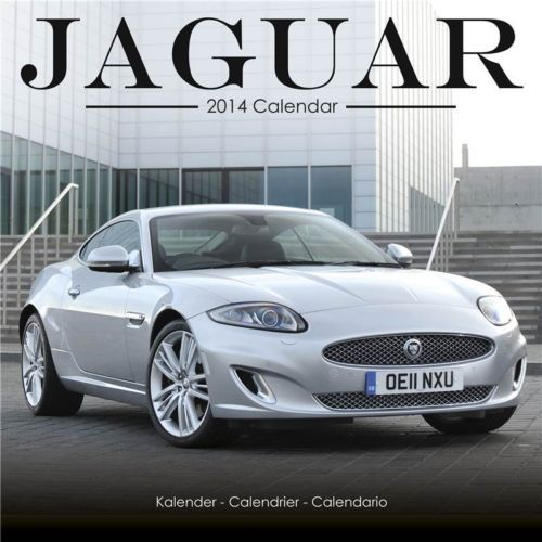 JAGUAR 2014 Wall Calendar | eBay
