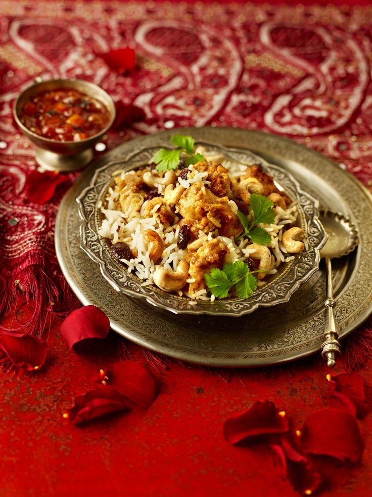 Recette Poulet Biryani - Pour 4 personnes - Prêt en 35 minutes - Produit Parampara associé : Concentré de saveurs aux épices pour Poulet Biryani #cuisine #cuisineindienne #inde #recettes #recettesindiennes