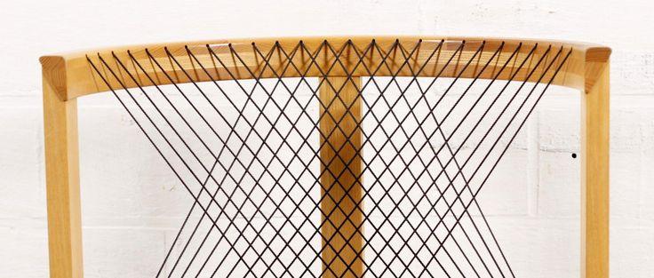 Dänischer Stuhl von Niels Jorgen Haugesen für Tranekær, 1980er 2
