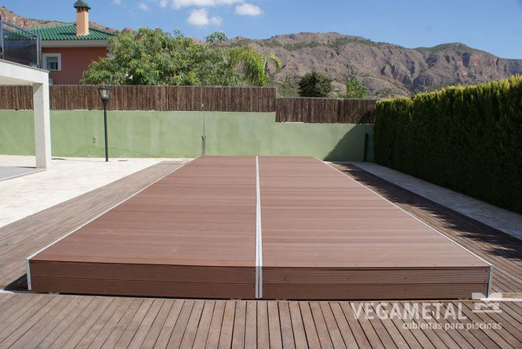 Thin swimming pool enclosure / motorized - SLIDE - VEGAMETAL - Videos