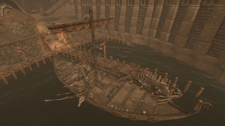 I feel like this ship should be sinking right now given how heavy dragon bones are. #games #Skyrim #elderscrolls #BE3 #gaming #videogames #Concours #NGC