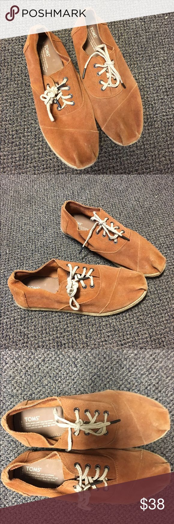 Men's Tom's Desert Oxfords Size 11, very little wear and in near perfect condition TOMS Shoes Oxfords & Derbys