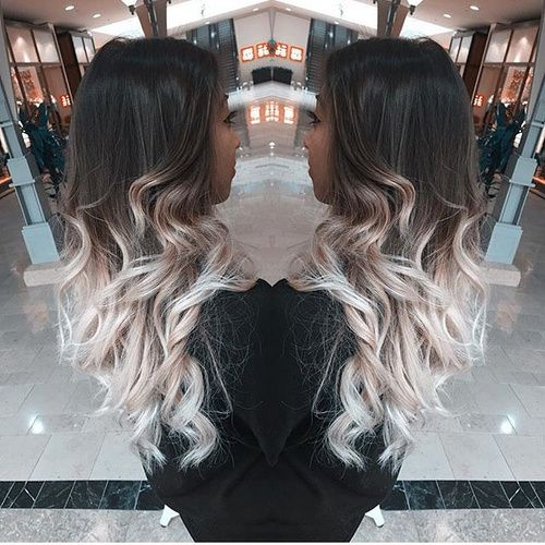 40 Glamorous Ash Blonde And Silver Ombre Hairstyles In