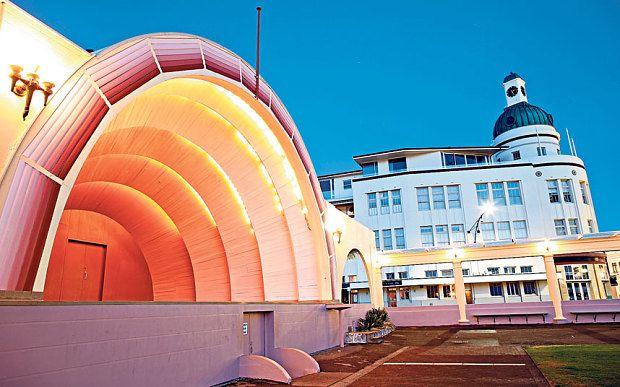 Napier, New Zealand: Tales of the Unexpected #Artdeco