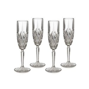 Marquis by Waterford Brookside 8-Ounce Champagne Flutes, Set of 4 --- http://bizz.mx/gnl