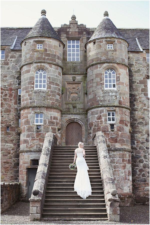 Rowallan Castle - Scotland. The birth place of Elizabeth Mure, Queen of Scotland