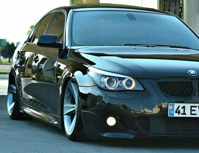 bmw e60 5 series black slammed sport cars pinterest slammed bmw and cars. Black Bedroom Furniture Sets. Home Design Ideas
