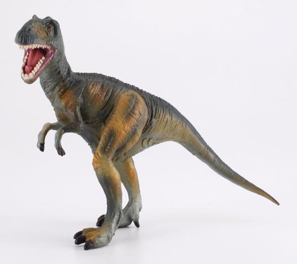 """Neovenator - El Neovenator era un dinosaurio carnívoro terópodo de la familia de los carcarodontosáuridos. Su nombre significa """"Nuevo Cazador"""". Alto: 8 cm Largo: 16 cm Figuras de gran calidad y detalle, parecen de verdad! Edad: a partir de 3 años Marca: Collecta Ref. 30241 Precio: 8.00 € IVA incluido"""