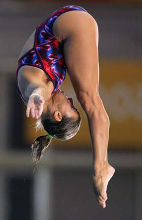 Chantelle Newbery - Diving - Athens Olympics 2004 - Womens 10m Platform
