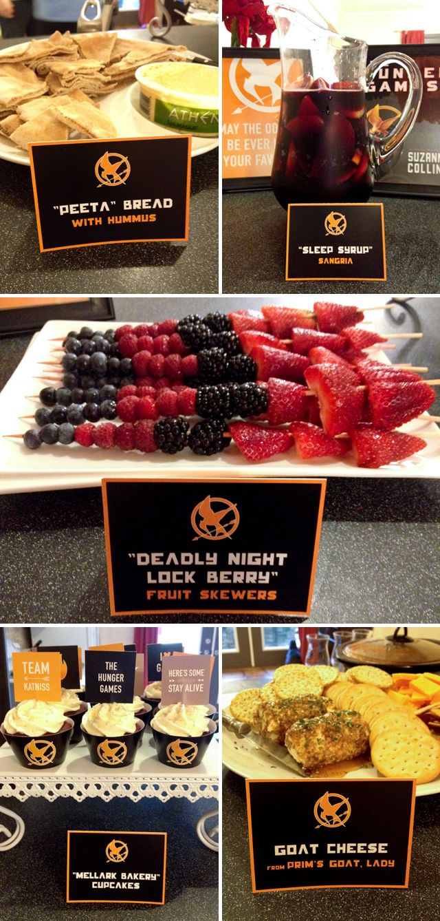 #nerdalert Hunger Games themed party ...click for more details, it might just have to happen.