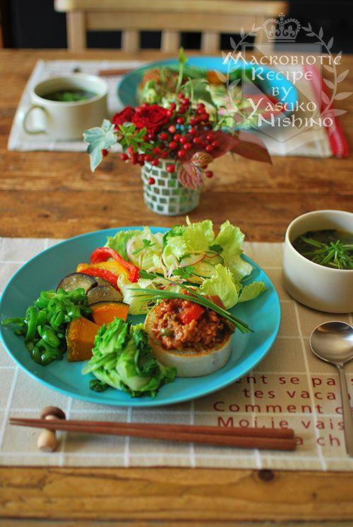 大根ステーキのランチプレート。 の画像|西野椰季子のマクロビオティックレシピ
