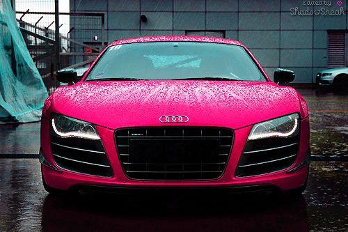 Pink cars!