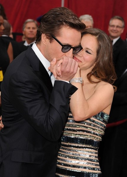 Robert Downey Jr & his wife Susan--how sweet!