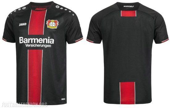 Bayer 04 Leverkusen 2018 2019 Jako Home Football Kit b5fca67de7953