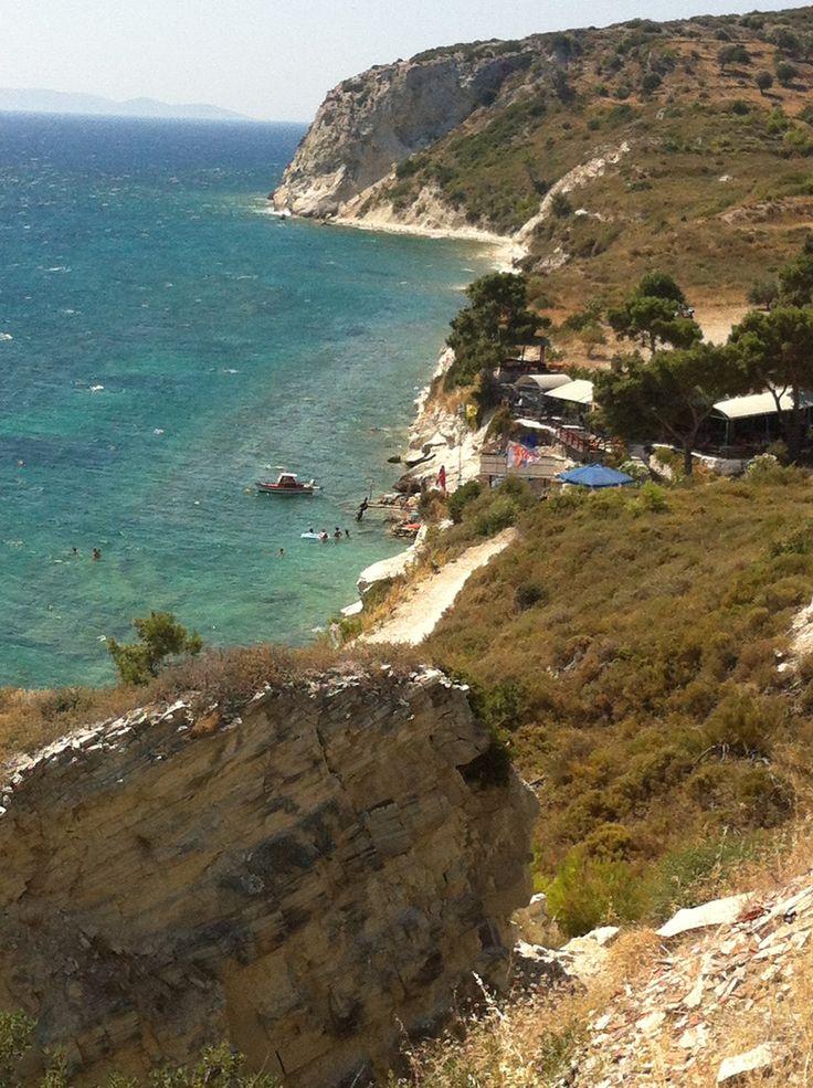 the beautiful hidden beaches. Greece, Samos
