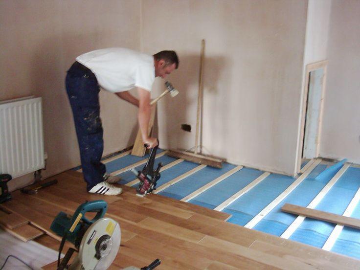 nice solid wood flooring at b q house floor plans. Black Bedroom Furniture Sets. Home Design Ideas