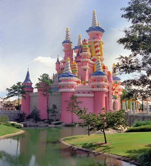 Our Dream Home! Candy Land Castle