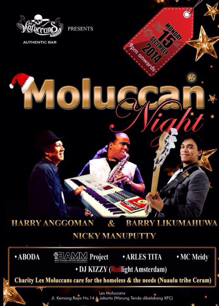 Xmass #MoluccanNight