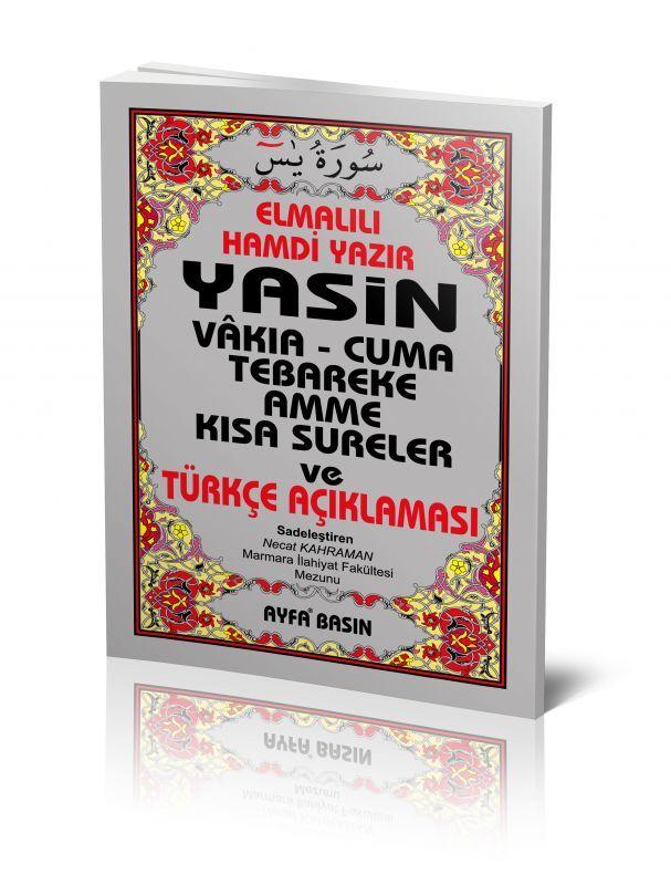 Çanta Boy Yasin Kitabı / Satır Altı Türkçeli Mealli 64 Sayfa / AYFA009 / Ayfa Basın Yayın