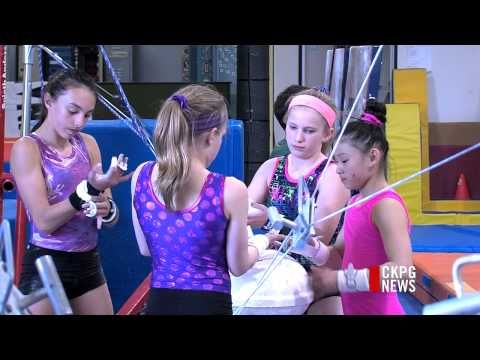 Alia Wilson (Prince George) speaking volumes with gymnastics achievements (Video)