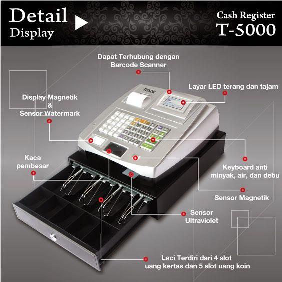 Cash Register Tissor T5000