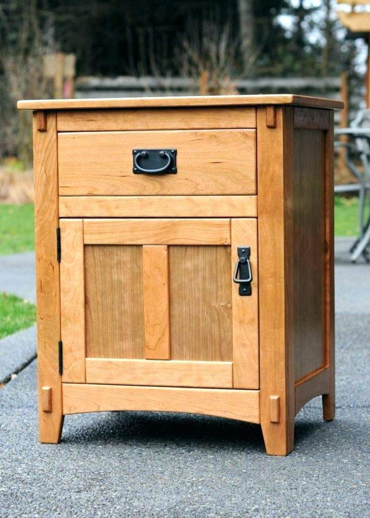 Hidden Drawer Nightstand Concealment Furniture Nightstand Hidden
