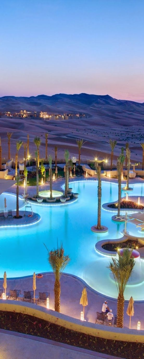 Qasr al Sarab Abu Dhabi- I could see myself vacationing here and looking out at this for days
