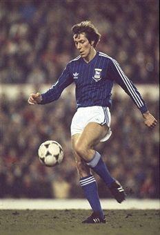 Arnold Muhren Ipswich Town 1982