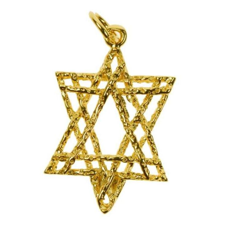 Star Of David Pendant - chtr-cgchs347