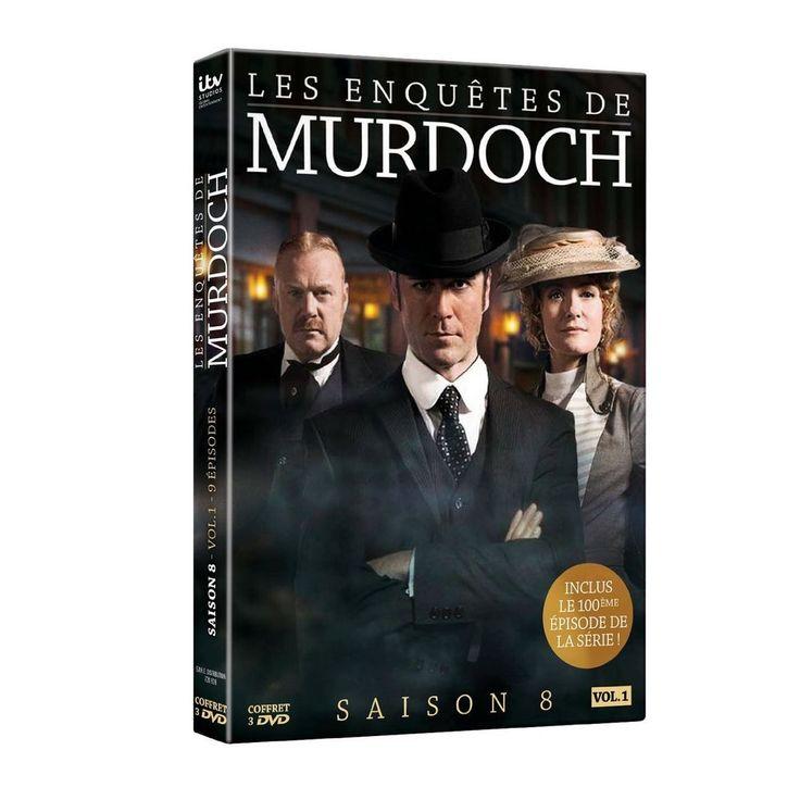 Les Enquêtes de Murdoch - Saison 8 - Vol. 1 (2015) - DVD Murdoch Mysteries