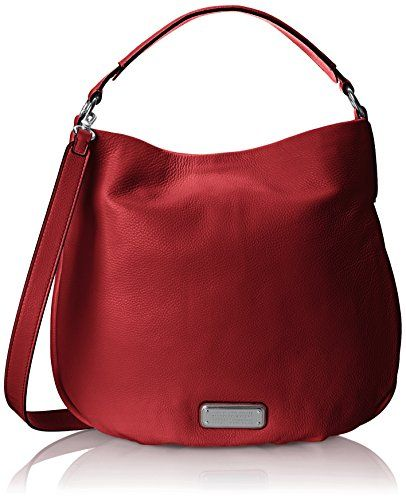 Marc by Marc Jacobs New Q Hillier Hobo Bag, Red Canyon, One Size