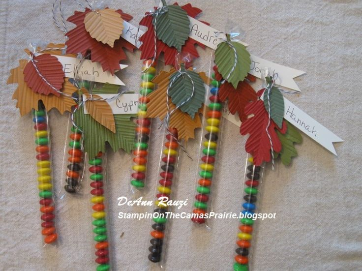 Kids Thanksgiving Party Favors