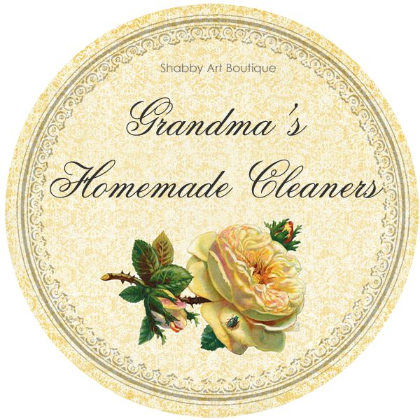 Grandma s Recipes for Homemade Cleaning Products