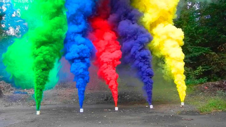 HOW TO MAKE COLORED SMOKE GRENADES How to make Coloured smoke from Wax Crayons…