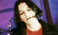 "Brian Molko *(gif) ""Nancy Boy video"""