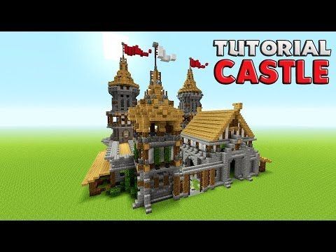 Minecraft: How To Build A Castle Tutorial | Barracks tutorial ( Medieval ) Survival castle - YouTube