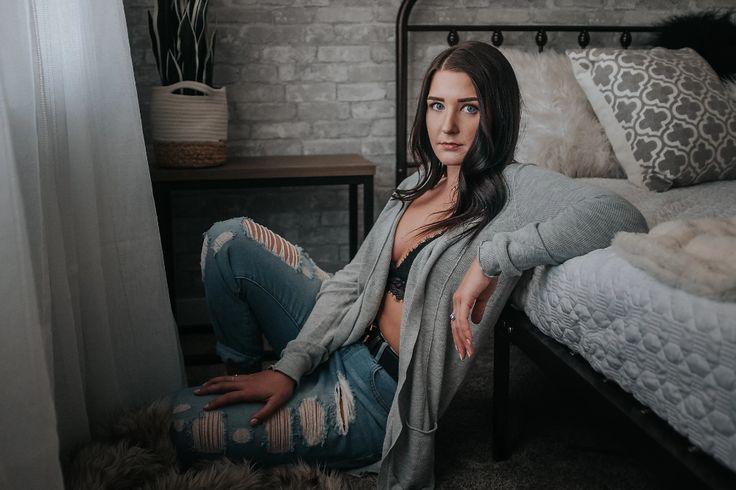 Cozy at home boudoir session lloydminster sk in 2020