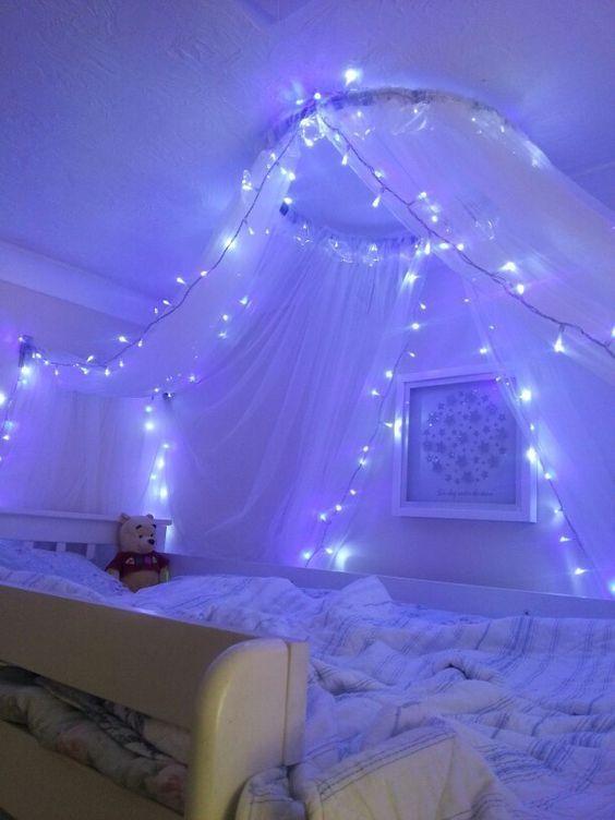 fantastique chaîne de lumière décorée chambre à coucher fille fille; LED décor de chambre à coucher rêve   – Zimmer