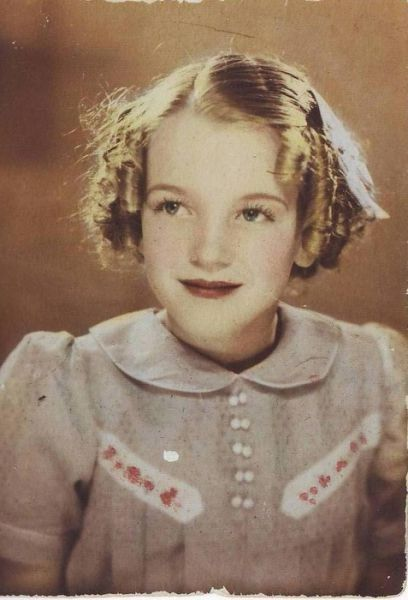 1930s: Marilyn Monroe as a child |  1930 , Marilyn  de niña. Ya se notaba su encanto . . .