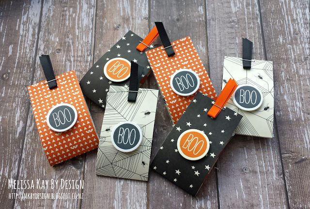 A BOO-TIFUL TREAT ! #halloween, #stampinup, #giftpackaging