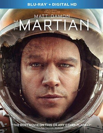 BRAND NEW The Martian (Blu-ray Disc 2016 Includes Digital Copy) FREE SHIPPING!