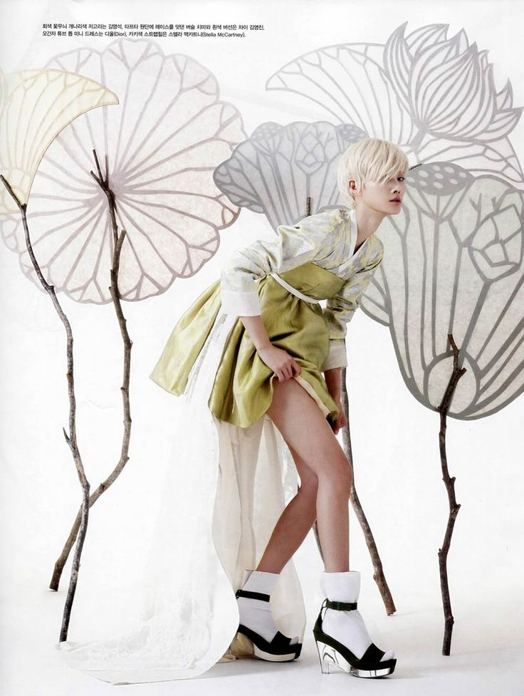 Hyun-Yi Lee by Gun-Ho Lee for Vogue Korea May 2013